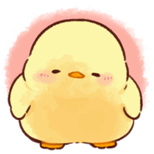 soft and cute chick 05 - Sticker 21