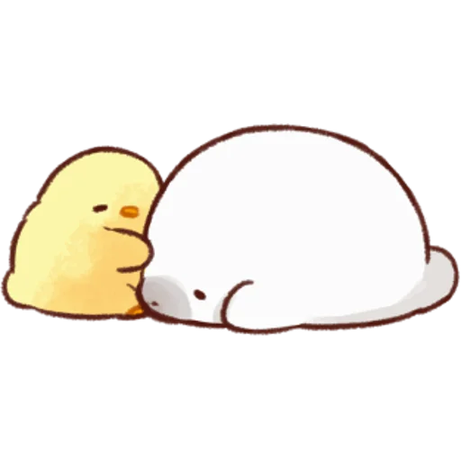 soft and cute chick 05 - Sticker 6