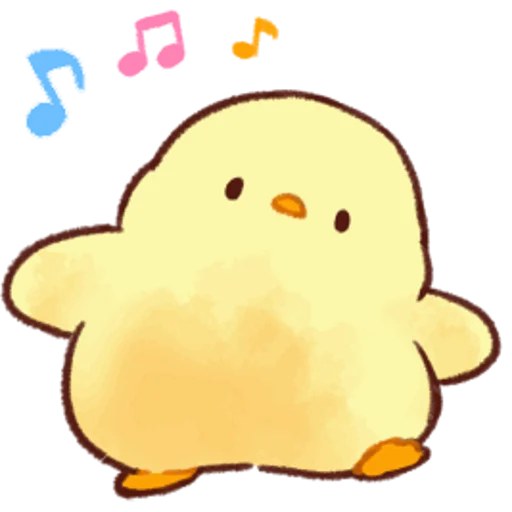 soft and cute chick 05 - Sticker 12