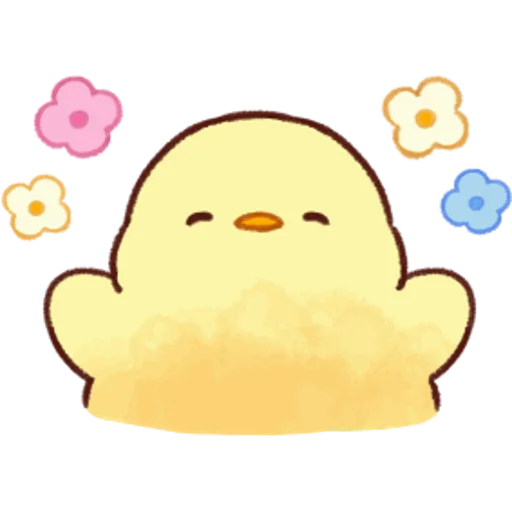soft and cute chick 05 - Sticker 4
