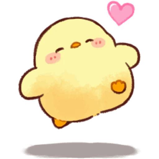 soft and cute chick 05 - Sticker 10