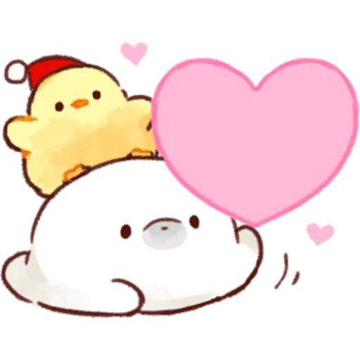 soft and cute chick 05 - Sticker 27