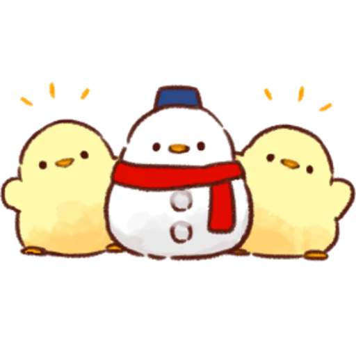 soft and cute chick 05 - Sticker 28
