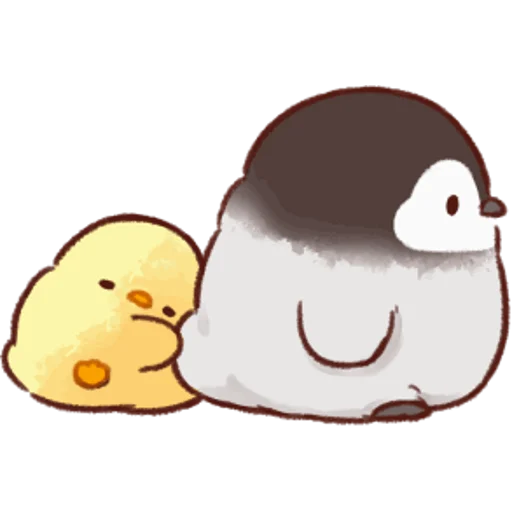 soft and cute chick 05 - Sticker 7