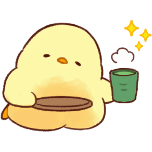 soft and cute chick 05 - Sticker 14