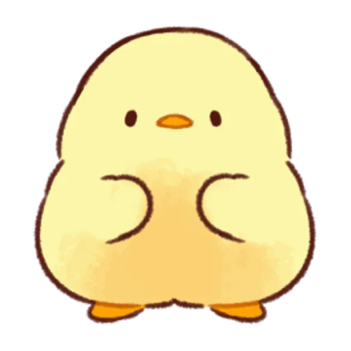 soft and cute chick 05 - Sticker 3