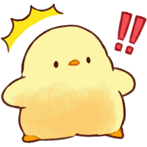 soft and cute chick 05 - Sticker 19
