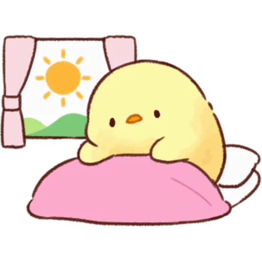 soft and cute chick 05 - Sticker 17