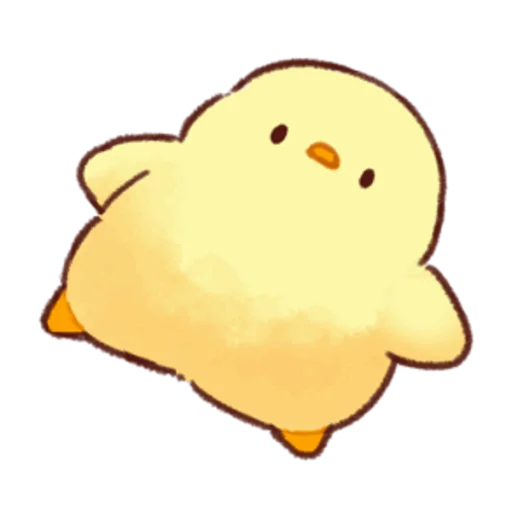 soft and cute chick 05 - Sticker 15