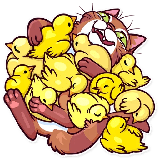 Meme Cats Stickers2 - Sticker 8