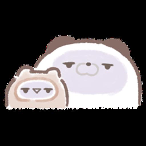 Cute panda  - Sticker 3