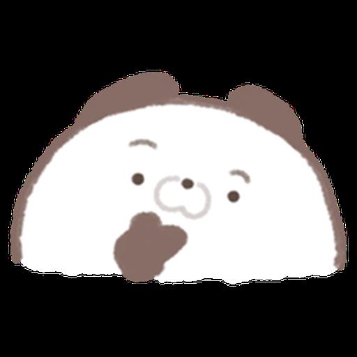 Cute panda  - Sticker 11