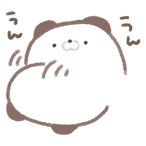 Cute panda  - Sticker 6
