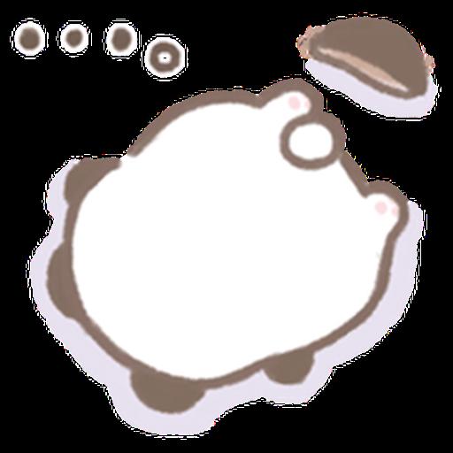 Cute panda  - Sticker 7