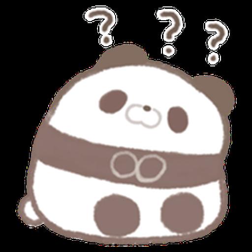 Cute panda  - Sticker 4