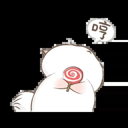 四毛與八毛 - Sticker 2