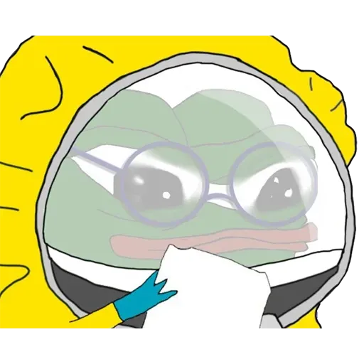 Hazmat Pepe - Sticker 28