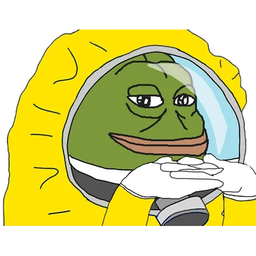 Hazmat Pepe - Sticker 25