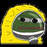 Hazmat Pepe - Tray Sticker