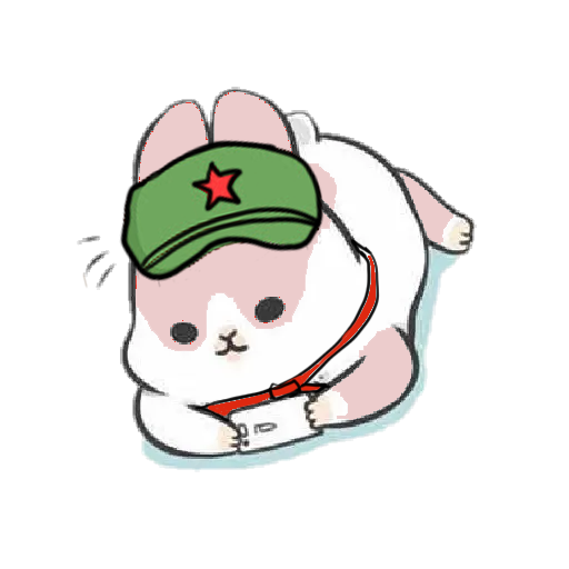 Machiko Rabbit(支那兔HK)1 - Sticker 4