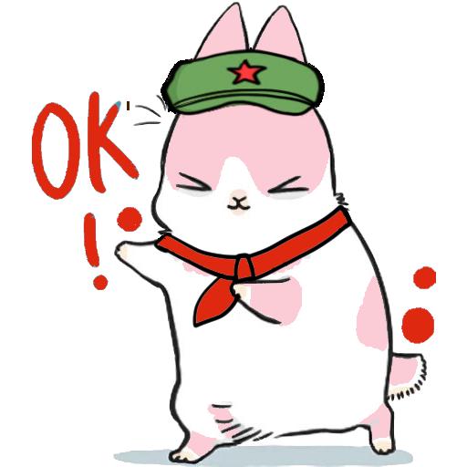 Machiko Rabbit(支那兔HK)1 - Sticker 12