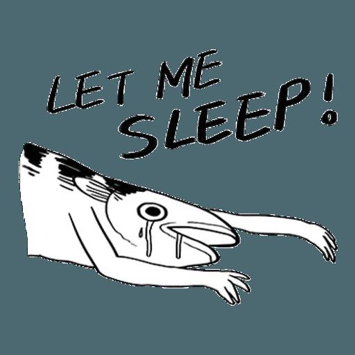Mr. Fish - Sticker 10