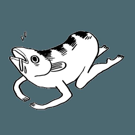 Mr. Fish - Sticker 21