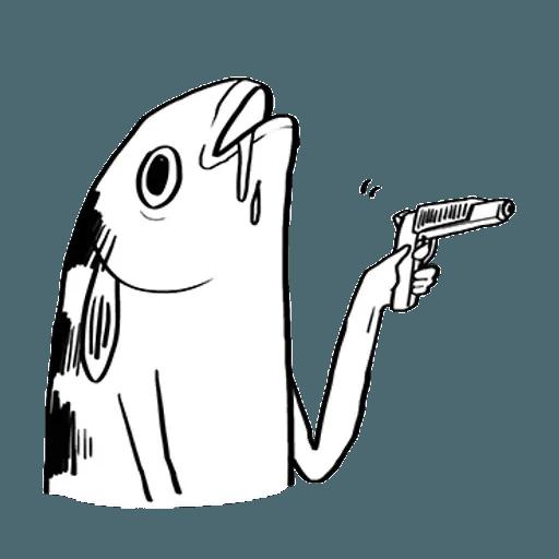 Mr. Fish - Sticker 26