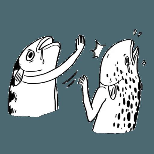 Mr. Fish - Sticker 16