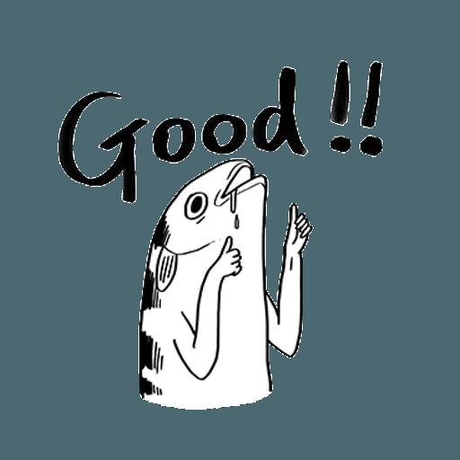Mr. Fish - Sticker 19