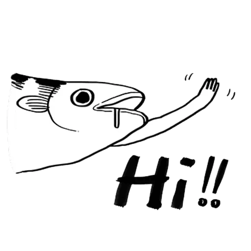 Mr. Fish - Sticker 14