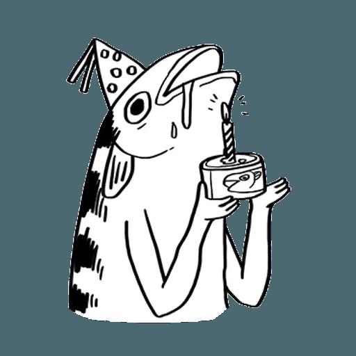 Mr. Fish - Sticker 8