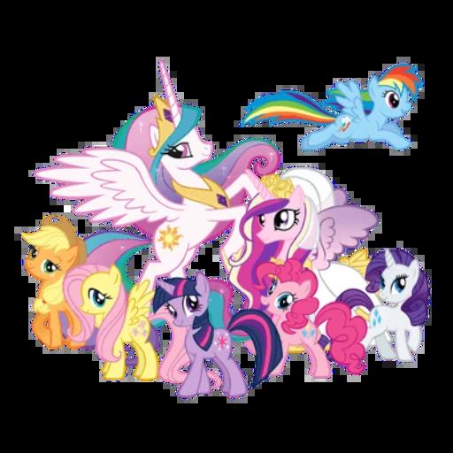 pony - Tray Sticker
