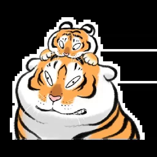 猛虎圖2 - Sticker 25