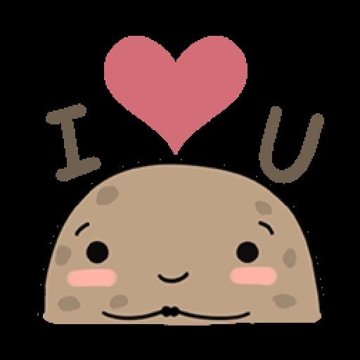 Kawaii Potato - Sticker 14
