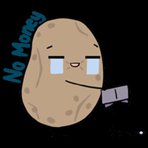Kawaii Potato - Sticker 11