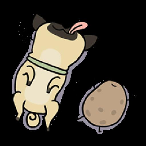 Kawaii Potato - Sticker 6