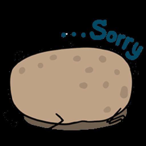 Kawaii Potato - Sticker 29