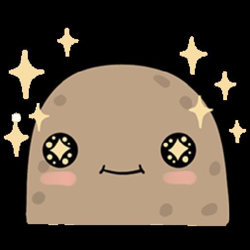 Kawaii Potato - Sticker 18