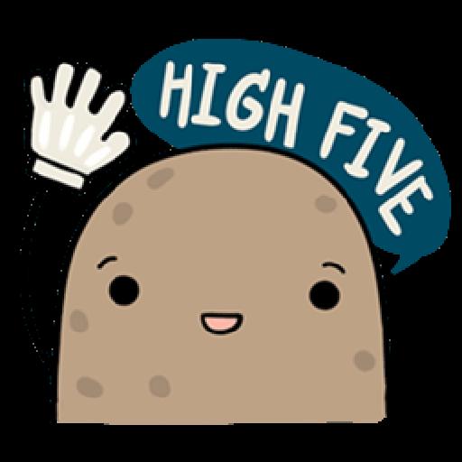 Kawaii Potato - Sticker 20