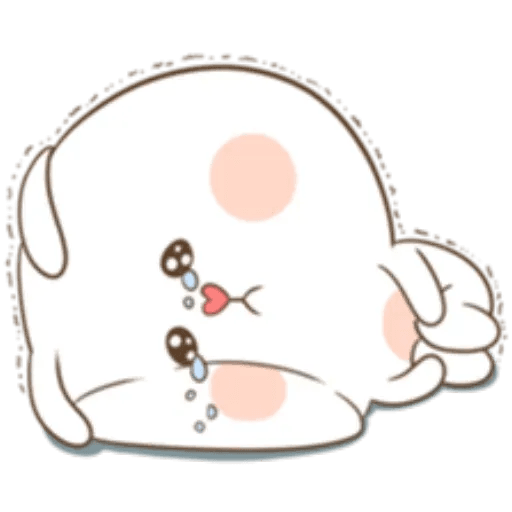 Puffy Rabbit 2 - Sticker 2