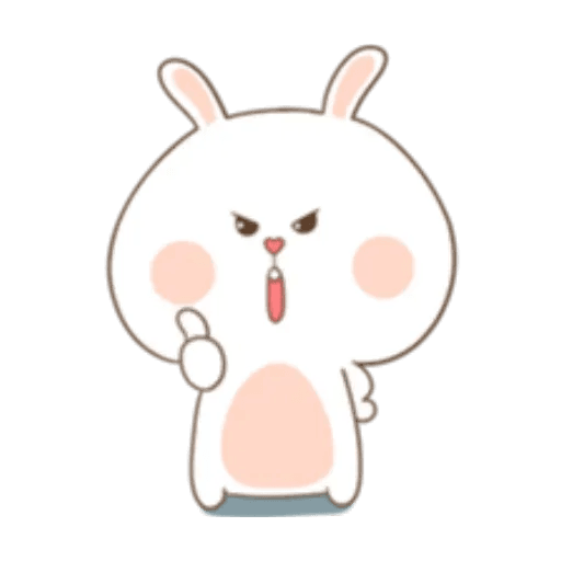 Puffy Rabbit 2 - Sticker 19