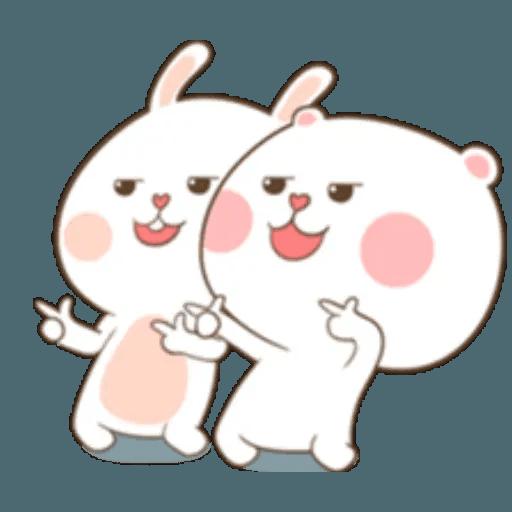 Puffy Rabbit 2 - Sticker 30