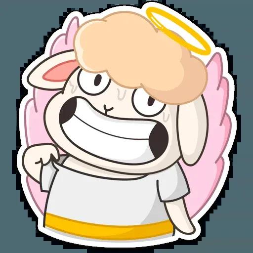 Blonde Angel - Sticker 4