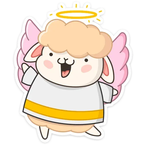 Blonde Angel - Sticker 2