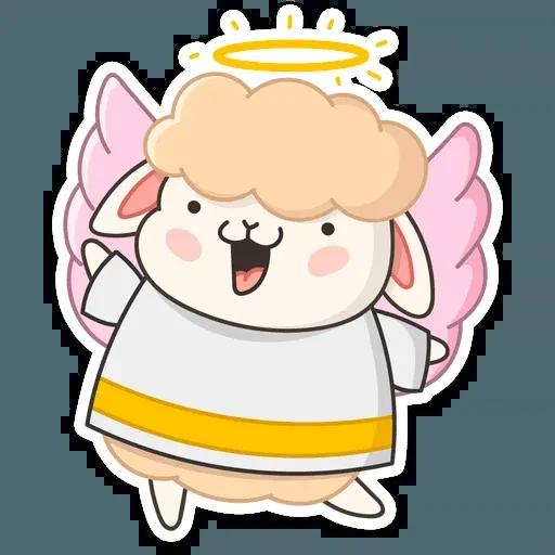 Blonde Angel - Sticker 2