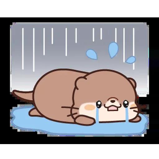 小水獺日常生活 - Sticker 10
