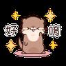 小水獺日常生活 - Tray Sticker