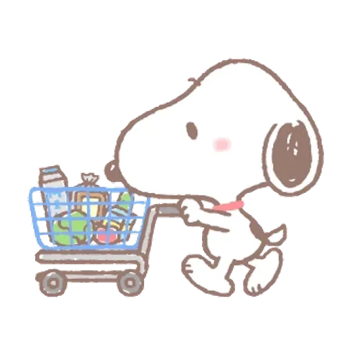 Snoopy - Sticker 7