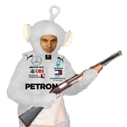 F1 teletubbies (every team) - Sticker 2